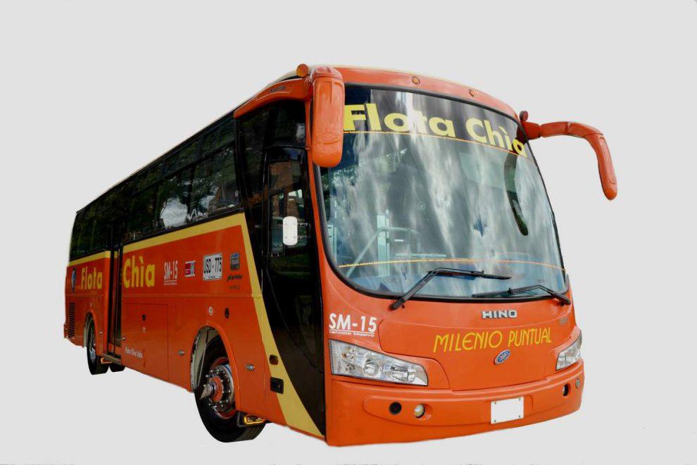 Flota chia bus